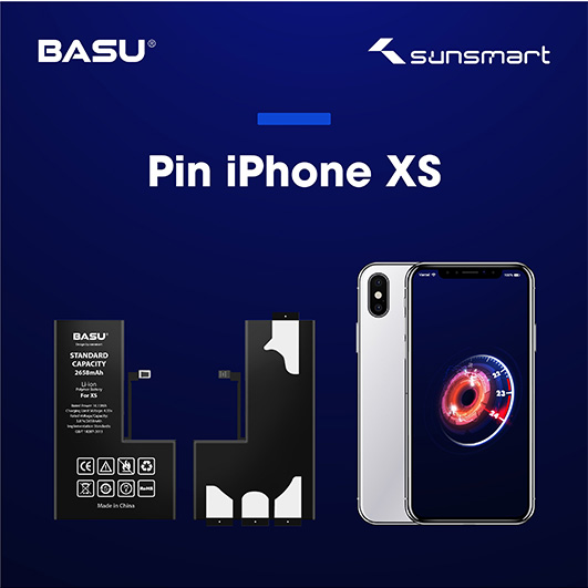 Pin BASU iPhone XS