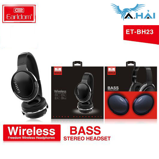 Tai nghe Bluetooth Earldom BH23
