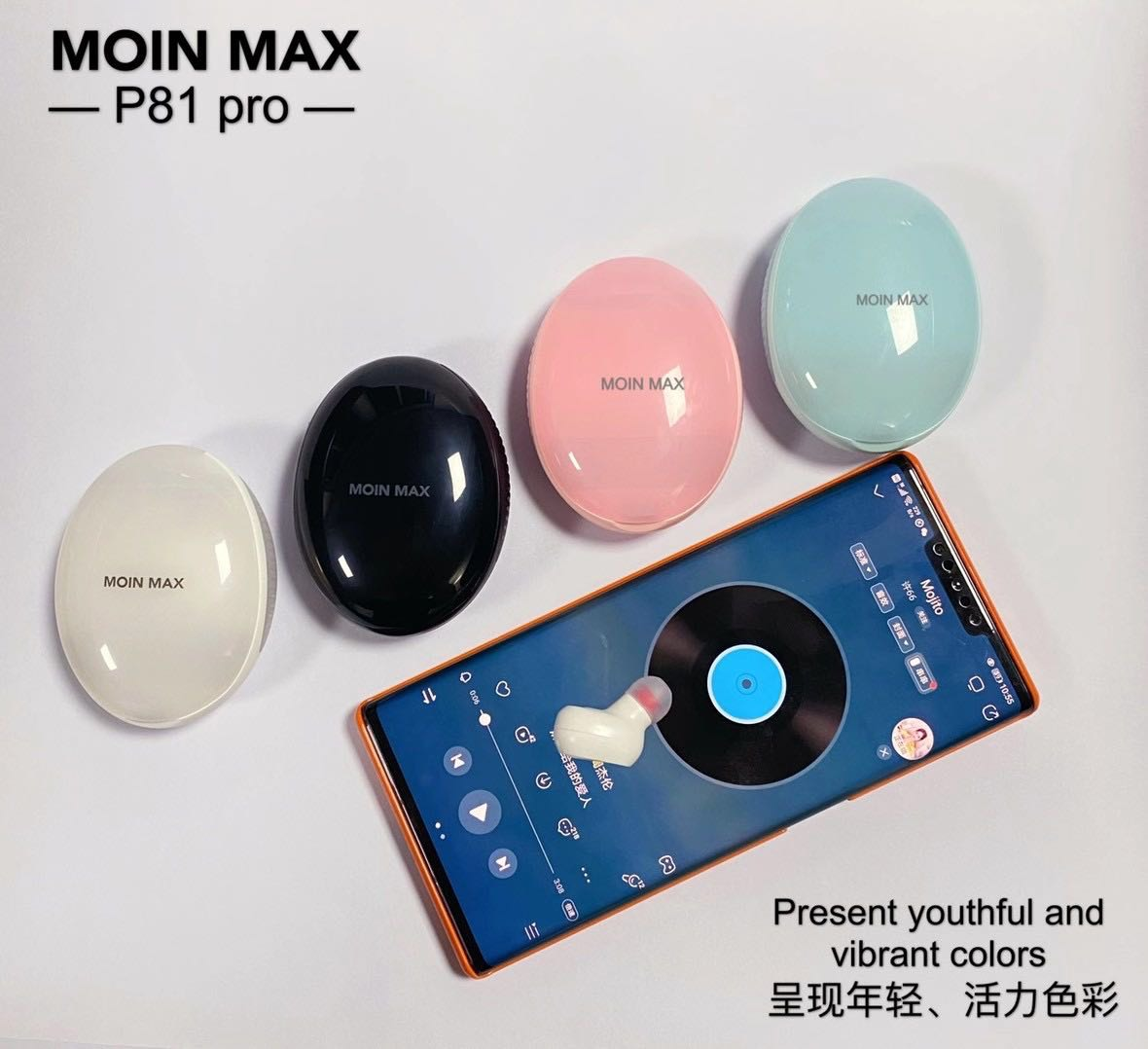 Tai Nghe Airpod MOIN MAX P81 Pro
